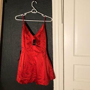 NWT Bebe red dress